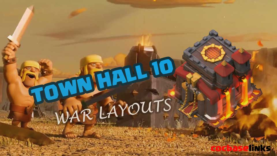 Best TH10 War Base With Links 2020 Anti 3 Stars