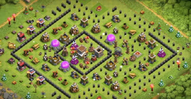 Best Town hall 8 farming base