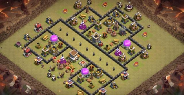 Town Hall best war base