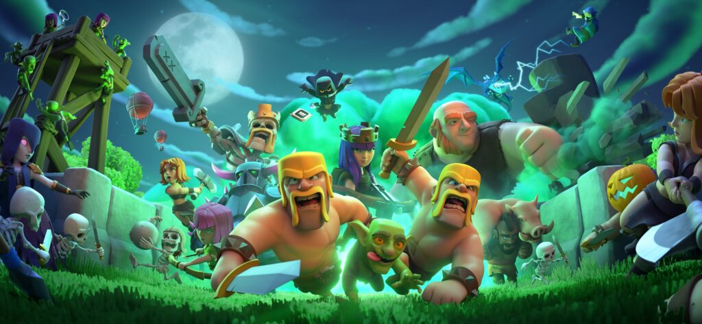 best clash of clans hd wallpaper  background images
