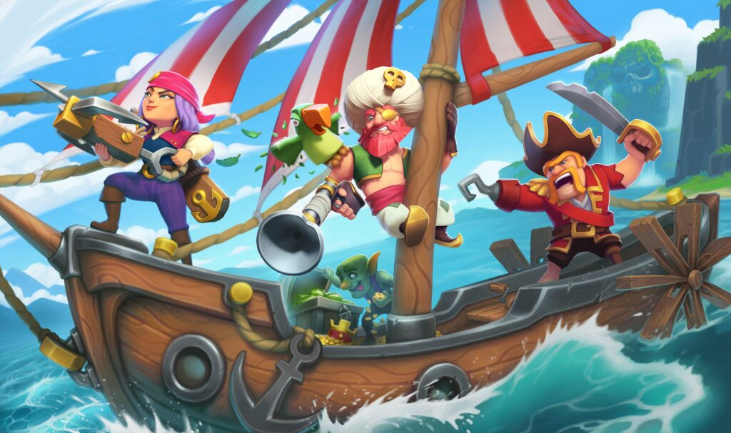 Clash of clans Pirate wallpaper