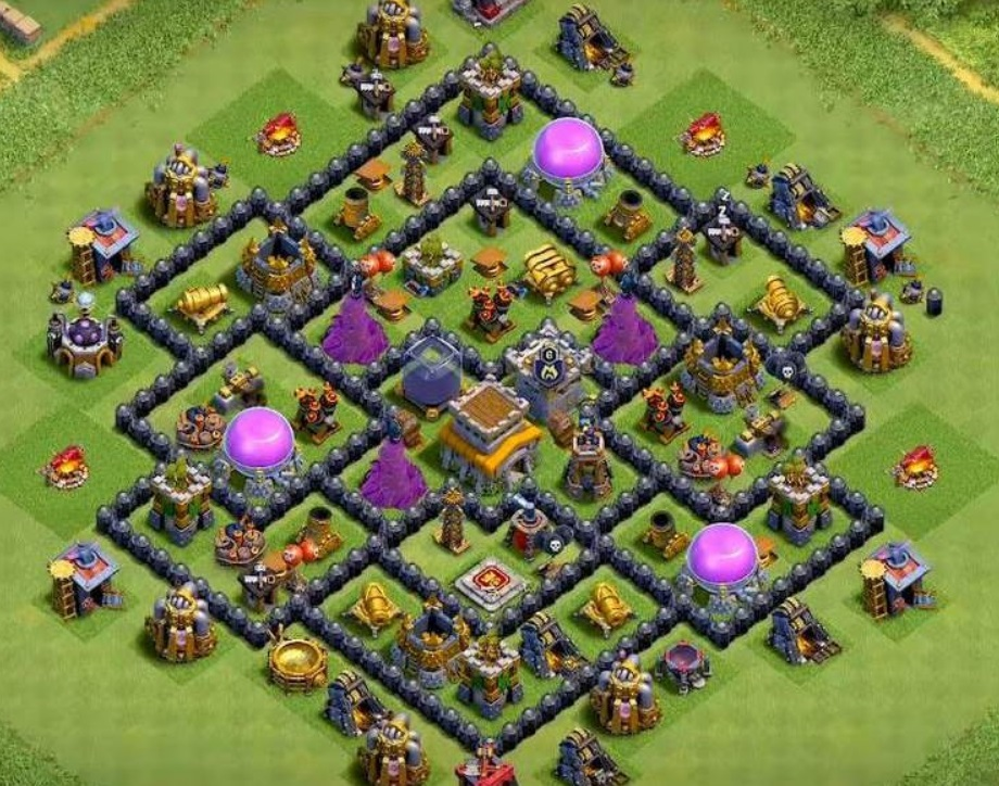 Best Town Hall 8 base
